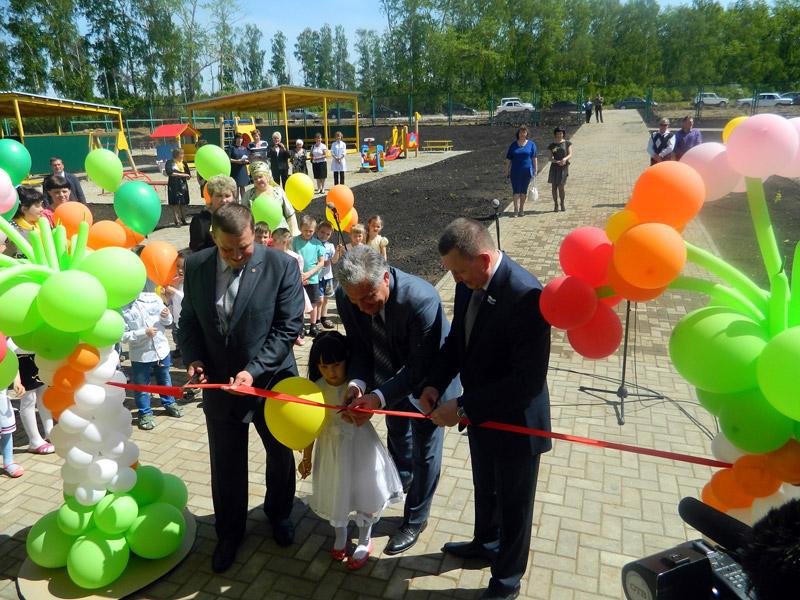 Открытие детского сада с.Криулино, май 2015 г