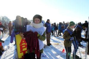 Волонтёры района прокладывают лыжню добрых дел