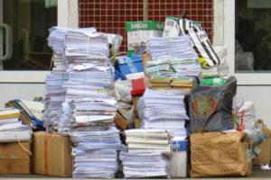 Более 15-ти тонн бумаги - на переработку!