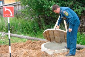 Источники пожарного водоснабжения должны быть исправны