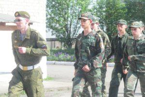 В июне пройдут военно-полевые сборы с учащимися школ МО Красноуфимский округ.
