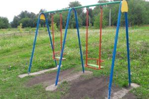 В 2019 году в Красноуфимском районе устанавливают детские игровые и спортивные комплексы