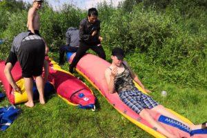 Ежегодный многодневный поход для несовершеннолетних Красноуфимского района прошёл в июле.