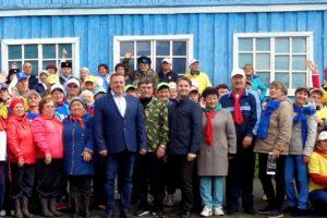 Ветераны Красноуфимского района соревновались на территории лагеря