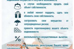 5 преимуществ регистрации права собственности