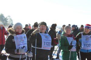 Лыжные соревнования в Красноуфимском районе в первой половине февраля 2020 года.