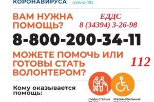 Помощь пожилым людям на самоизоляции