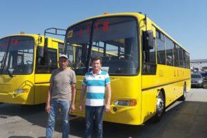 У Криулинской школы - новенький автобус