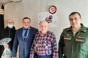 Значимый юбилей участника Великой Отечественной войны из Нижнеиргинского.