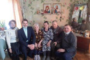 Долгожительница с. Сарсы-Первые встретила 100-летний юбилей.
