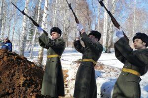 26 марта 2021 земляки попрощались с ветераном Великой Отечественной войны из с. Юва Егором Николаевичем Николаевым